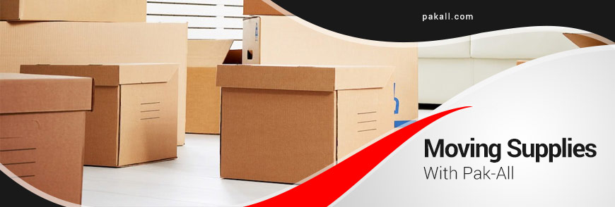 Moving Supplies With Pak-All in Tulsa, OK and Surrounding Areas